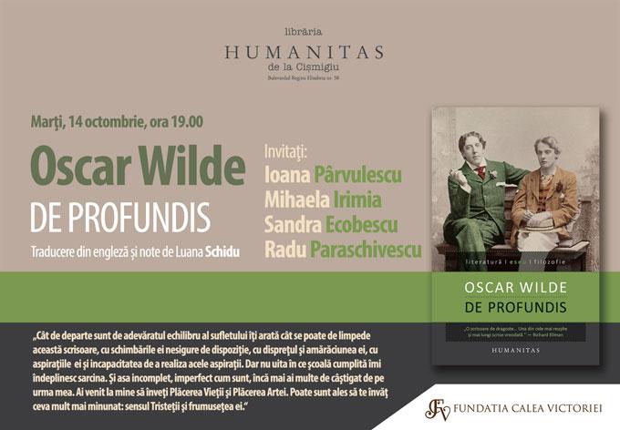 Invitatie Oscar Wilde