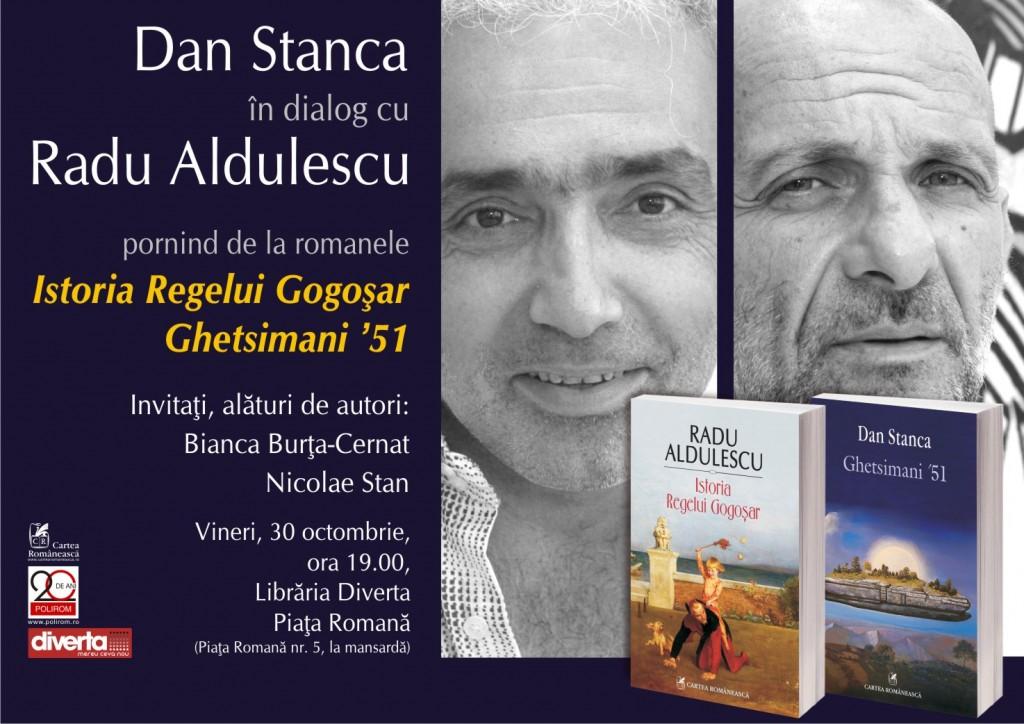 Afis Radu Aldulescu & Dan Stanca