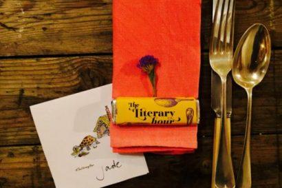 literary menu