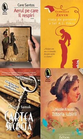 Cărți despre cărți. Votează cartea lunii!