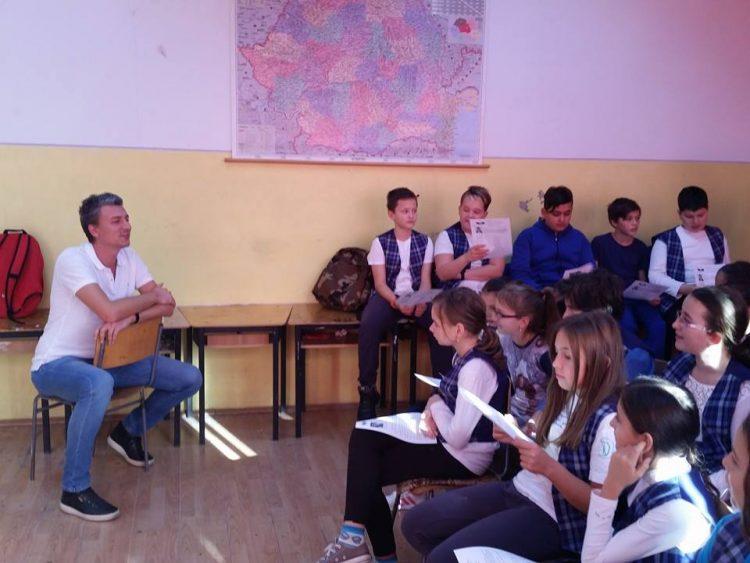 Bogdan Munteanu la Școala Gimnazială nr. 25 din Timișoara