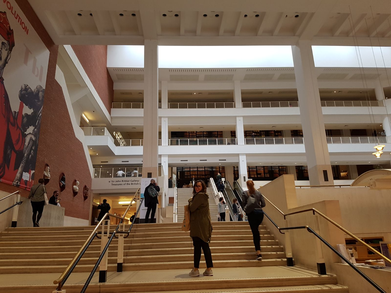 British Library - interior