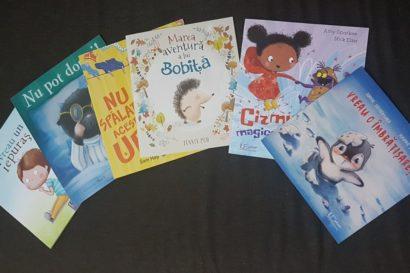 6 cărți pentru copii