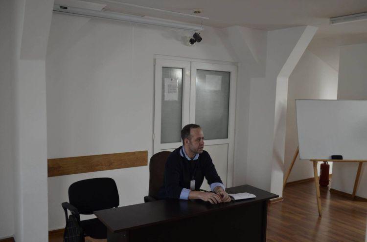 Luca Dinulescu la Penitenciarul Timisoara