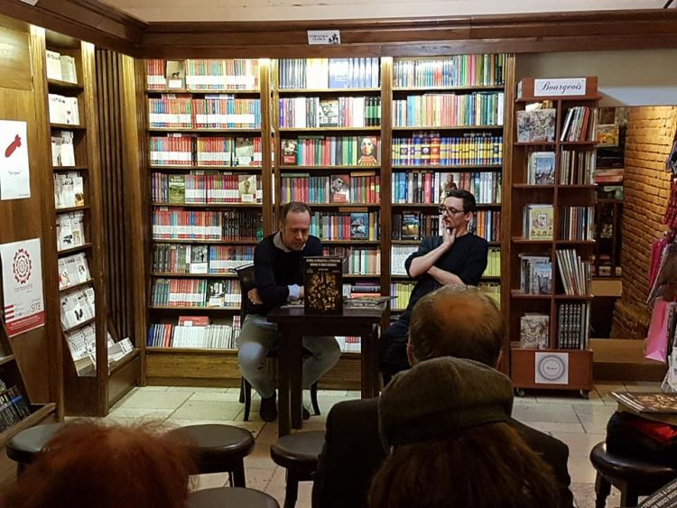 Istoria alternativa a literaturii in benzi desenate - lansare la Libraria Cartea de Nisip