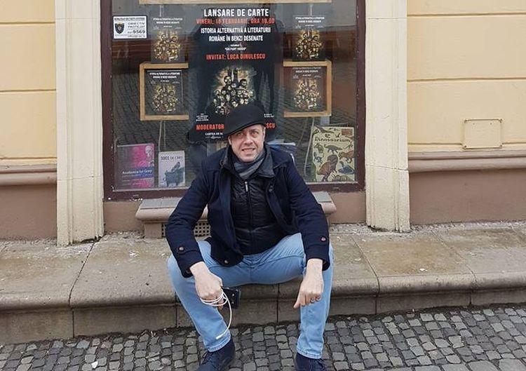 Luca Dinulescu la Timisoara