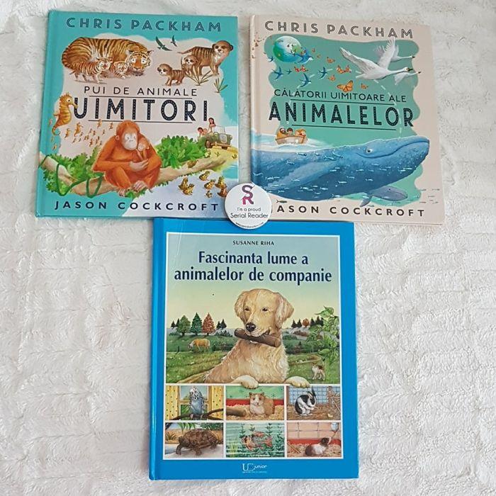 3 cărți pentru copii despre fascinanta lume a animalelor de la Editura Univers Enciclopedic