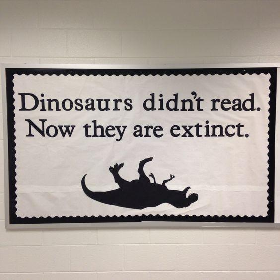 Dinozaurii nu citeau. Așa au dispărut.