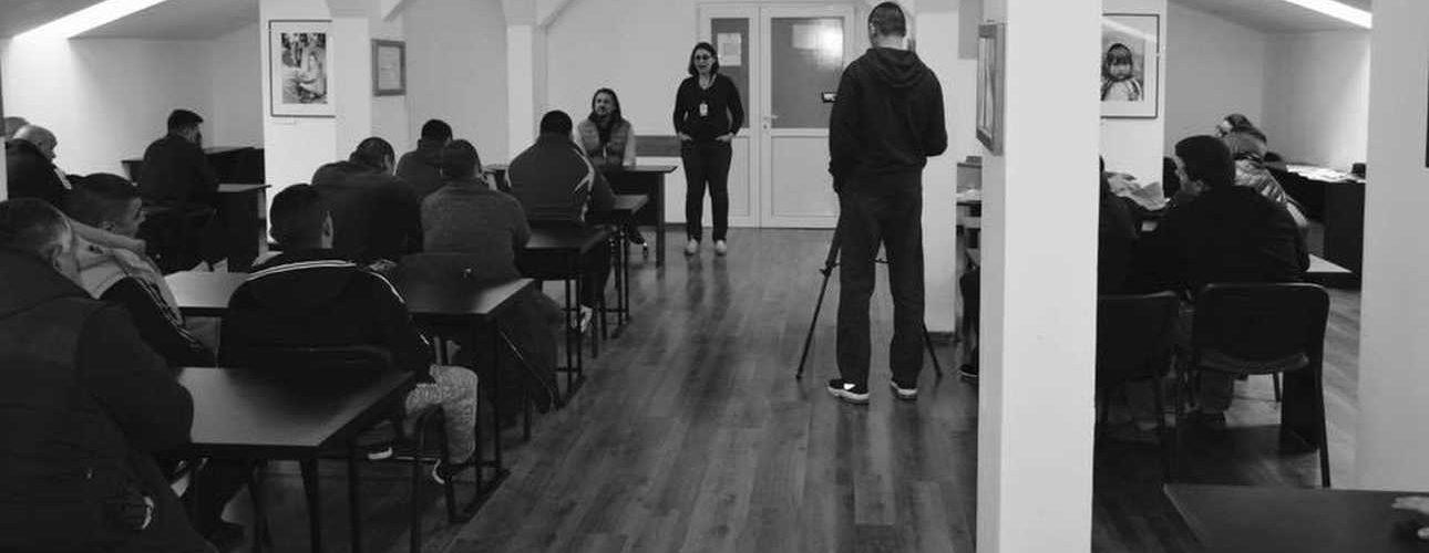 Clubul de lectura de la Penitenciarul Timisoara