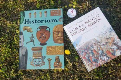 Cum s-a nascut poporul roman, Historium, Editura Humanitas Junior