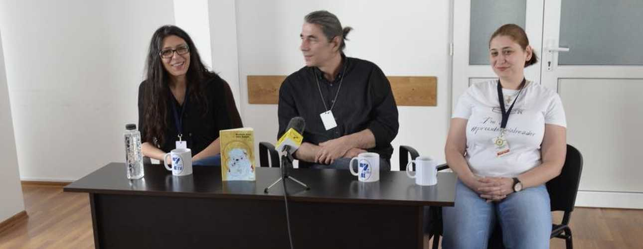 Geo Dinescu la Penitenciarul Timisoara