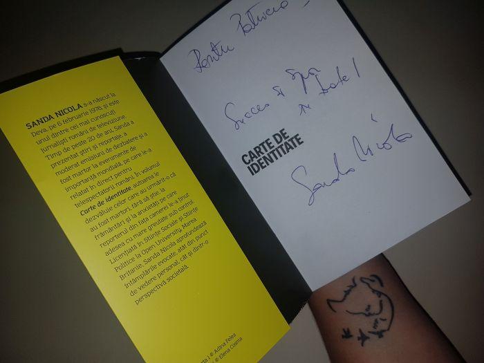 lansare volumul autobiografic Carte de identitate, Timișoara, la librăria Cărturești
