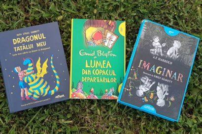 3 romane pentru copii de la editura Arthur numai bune de citit vacanța aceasta!