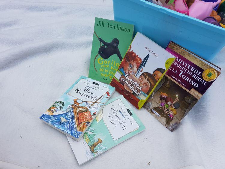 5 mini-romane pentru micii cititori