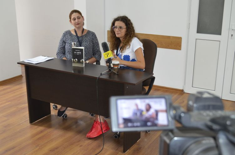 """Lansarea romanului """"La limita"""" de Diana Farca la Penitenciarul Timisoara"""