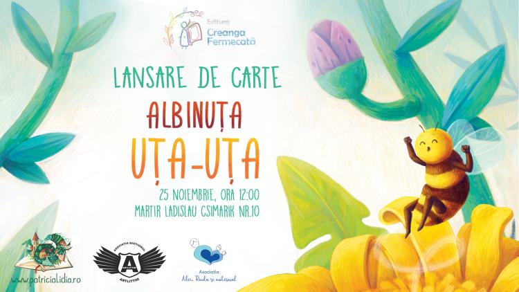 Invitatie lansare Patricia Lidia