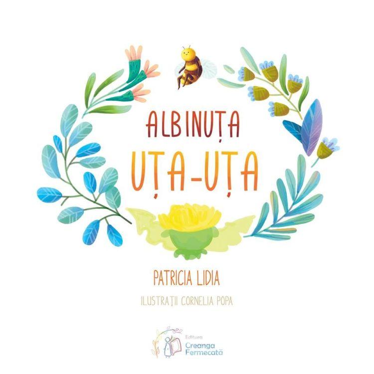 Coperta Albinuta Uta Uta de Patricia Lidia