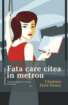 fata care citea la metrou