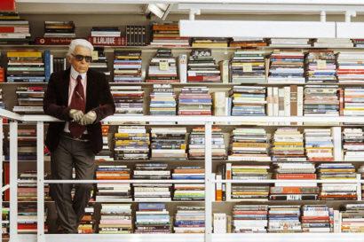 Biliotecile vedetelor - Karl Lagerfield