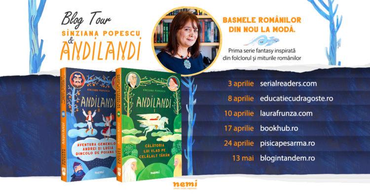 Blog Tour Andilandi