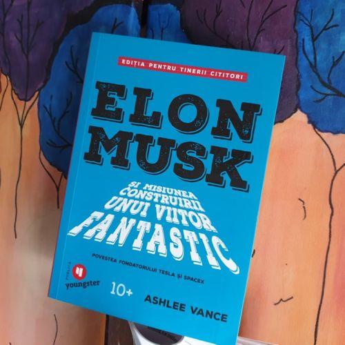 Elon Musk biografie copii