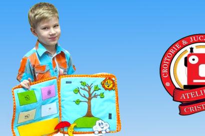 Atelierul Cristinei carte senzorială copii