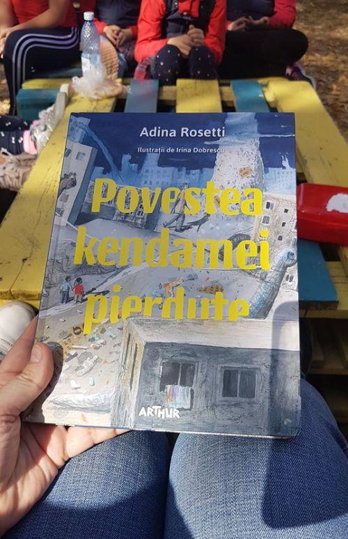 Povestea kendamei pierdute de Adina Rosetti