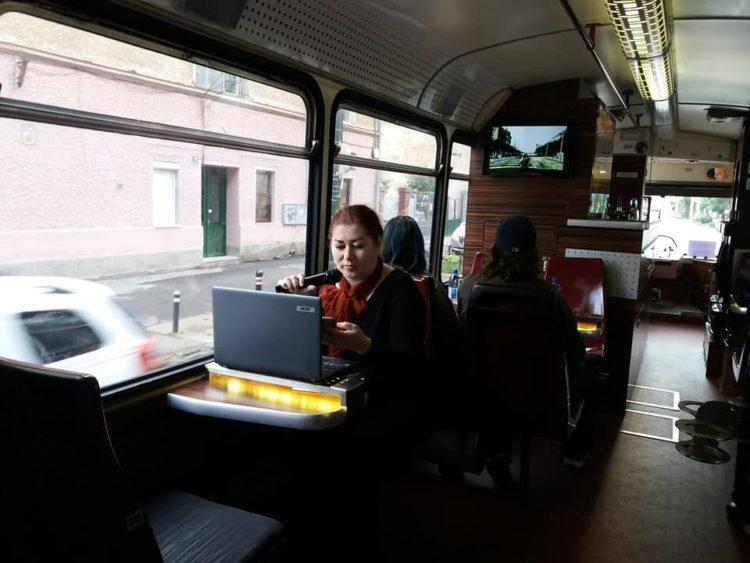 Liana Sabau Sa CiTimisoara Tramvaiul Turistic iunie 2019
