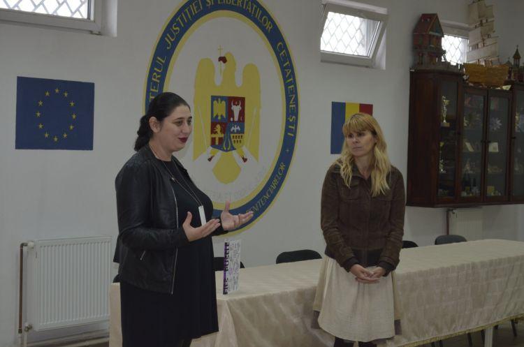 Cristina Andone și Nesupusele la Penitenciarul Timișoara