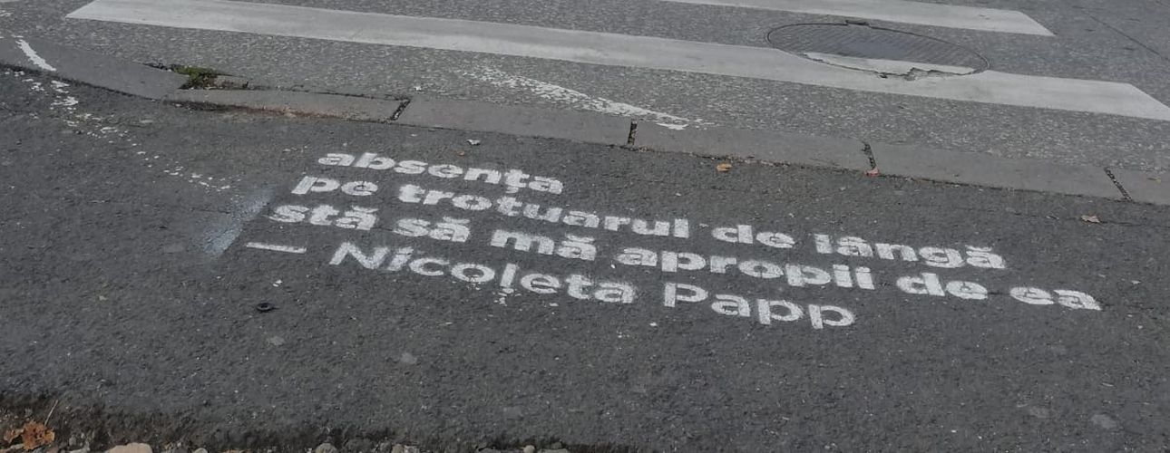 Poezia pe stradă