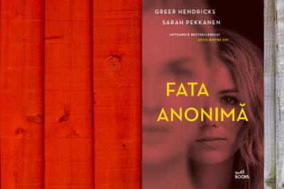 cartea lunii noiembrie - fata anonima