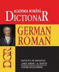 Dictionar german-roman de Academia Romana