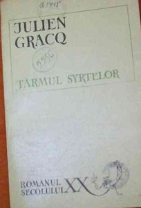 Tarmul syrtelor de Julien Gracq
